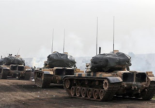Turkish military operation/invasion on north Syria is flagrant assault