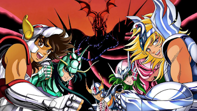 Knights of the Zodiac - Saint Seiya imagem do anime clássico