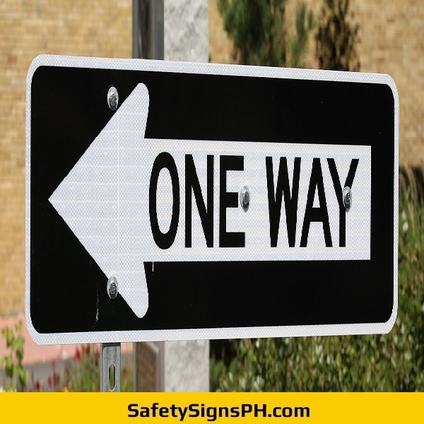One Way Arrow Sign Philippines