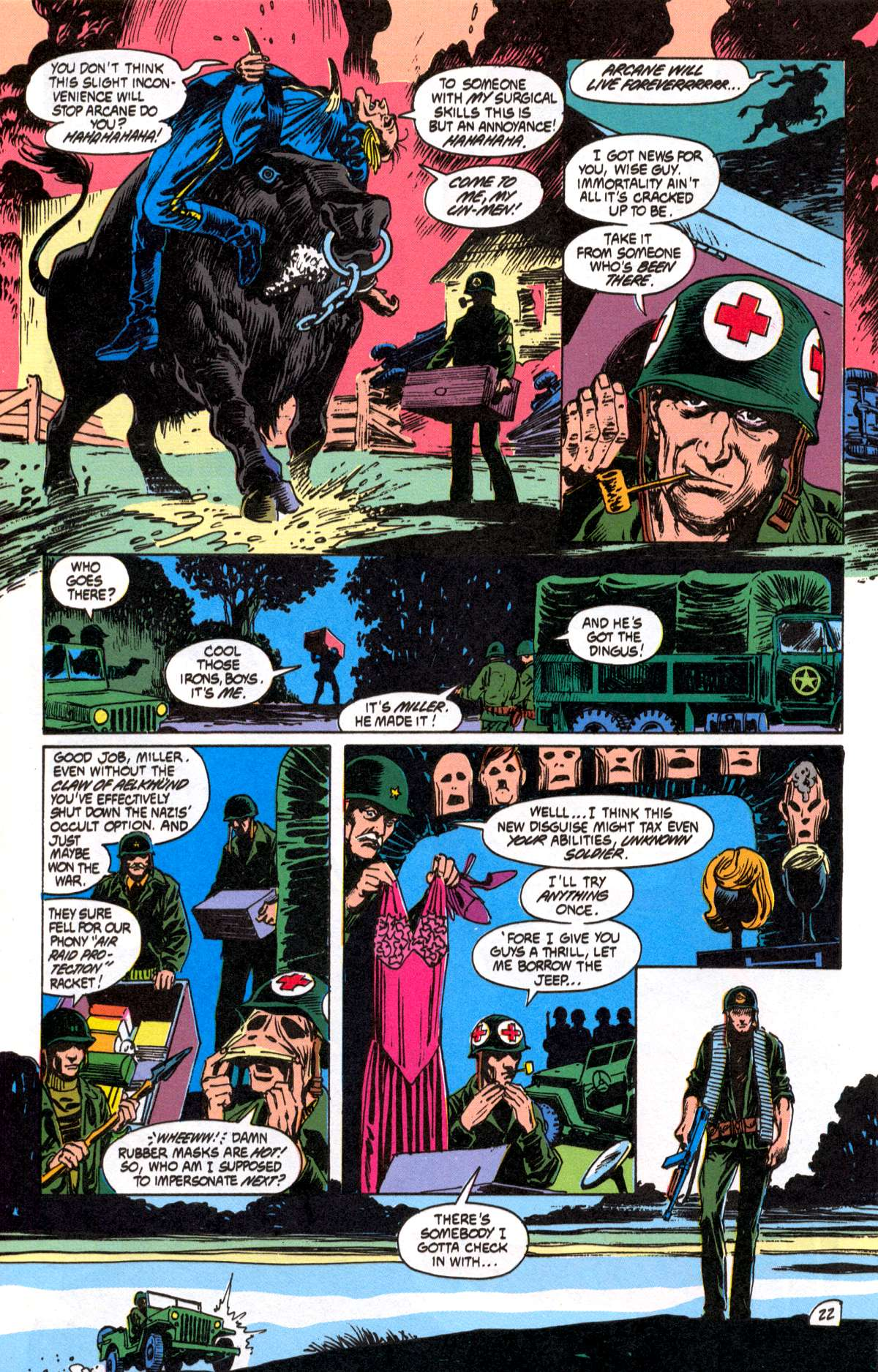 Swamp Thing (1982) Issue #82 #90 - English 23