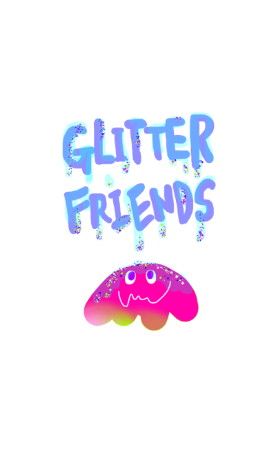 glitter monsters