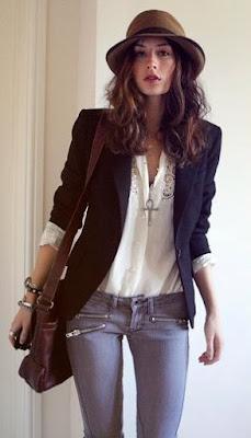 blazer casual-chic