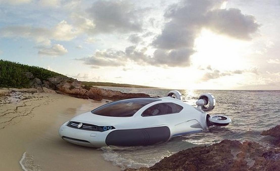 Volkswagen Aqua Hovercraft Concept