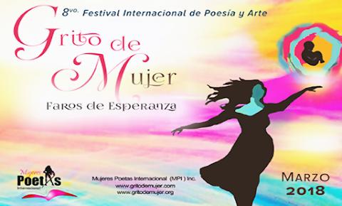 CONVOCATORIA Festival Grito de Mujer, 2018 en Torreón, Coahuila, México.