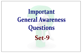 List of Expected General Awareness Questions for Upcoming IBPS PO/RRB Exams 2015 Set-9