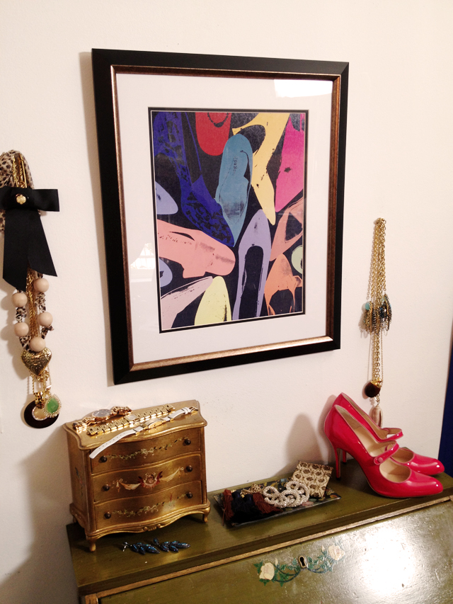 Andy Warhol, Diamond Dust Shoes, print