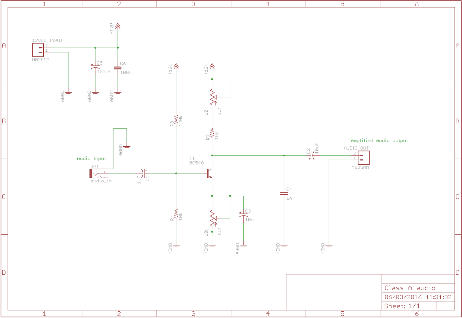 Bipolar Transistors Hackspace Manchester Transistor Amplifier Circuit Design Schematic Diagram In Designing The I Referred To This Websitewhich Is Rather Useful For Kind Of Thing