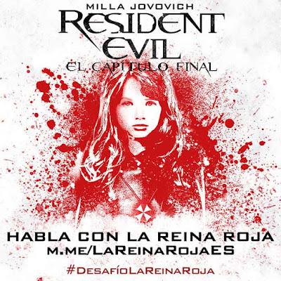 Desafio La Reina Roja / Resident Evil