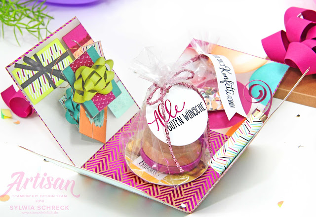 Explosionsbox-Stampin up-Perfekte Party