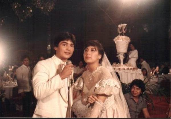 Sharon Cuneta Year 1984 Mega Star Ties Her Knot With Gabby Conception And Their Relationship Gave Life To Kc Who S Now An