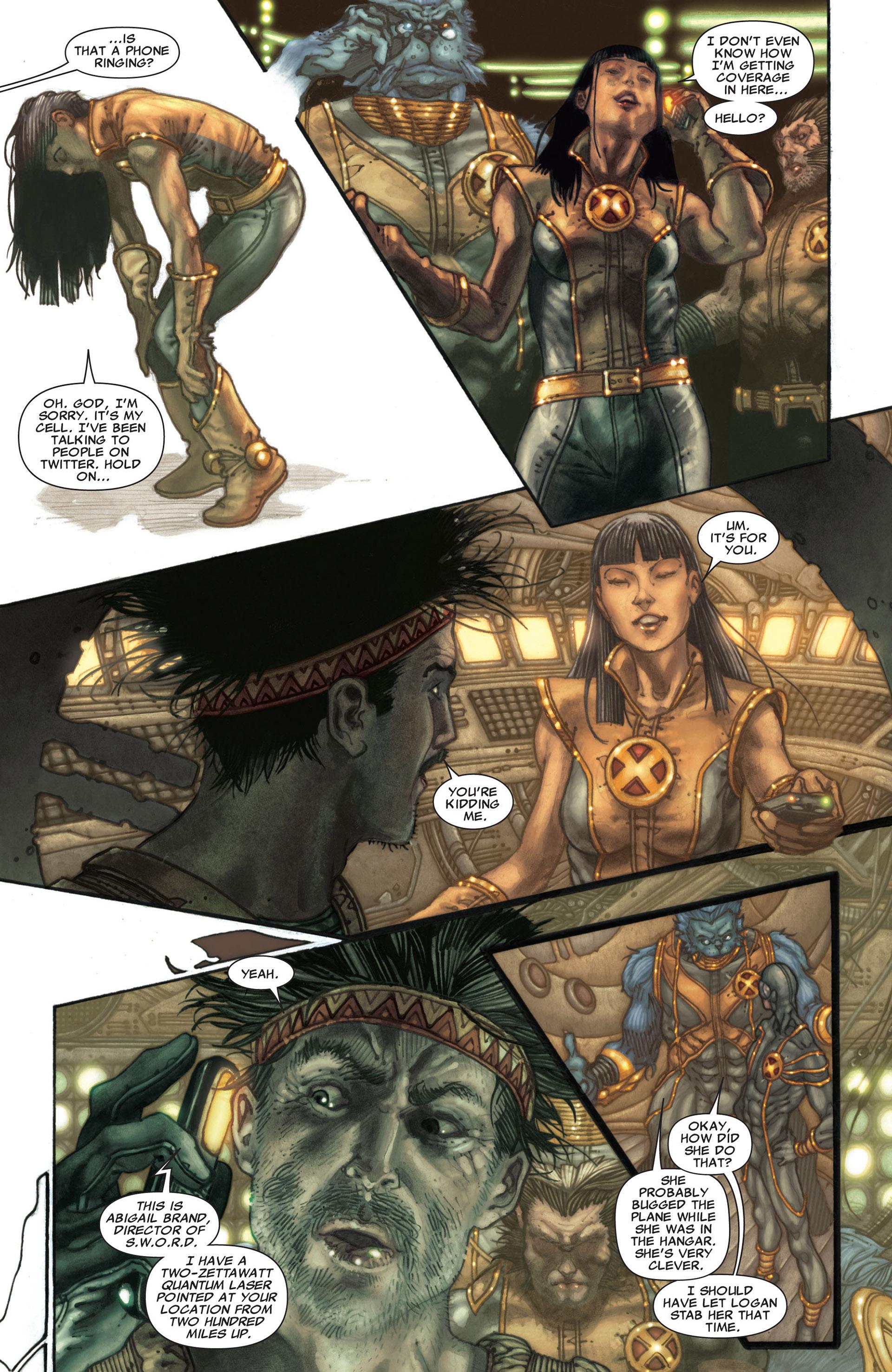 Read online Astonishing X-Men (2004) comic -  Issue #30 - 10