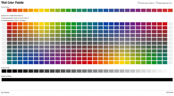 Get Free Apps Color Palettes Page Html Tutorial Blog For