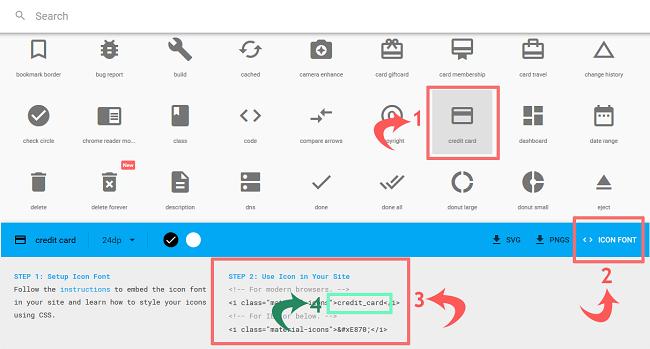 Cara Memasang Material Design Icons di Blogger