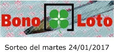 bonoloto martes 24-01-2017