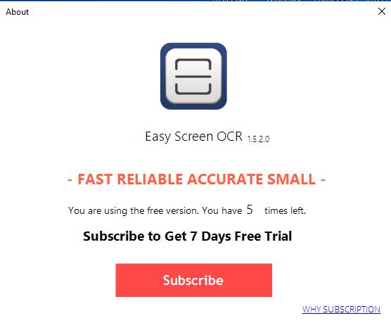تحميل مباشر برنامج Easy Screen OCR 2018 آخر إصدار