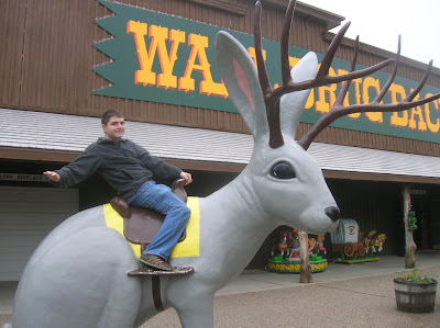 riding the wall drug jackalope