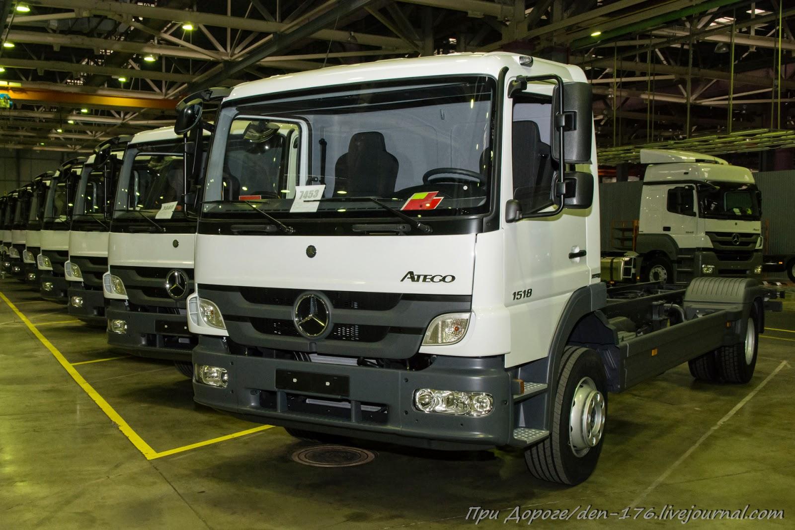 How to make MBTV 25 Mercedes Benz trucks in Naberezhnye Chelny