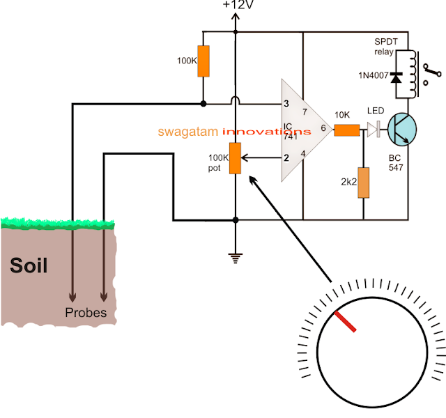 water level sensor circuit pdf