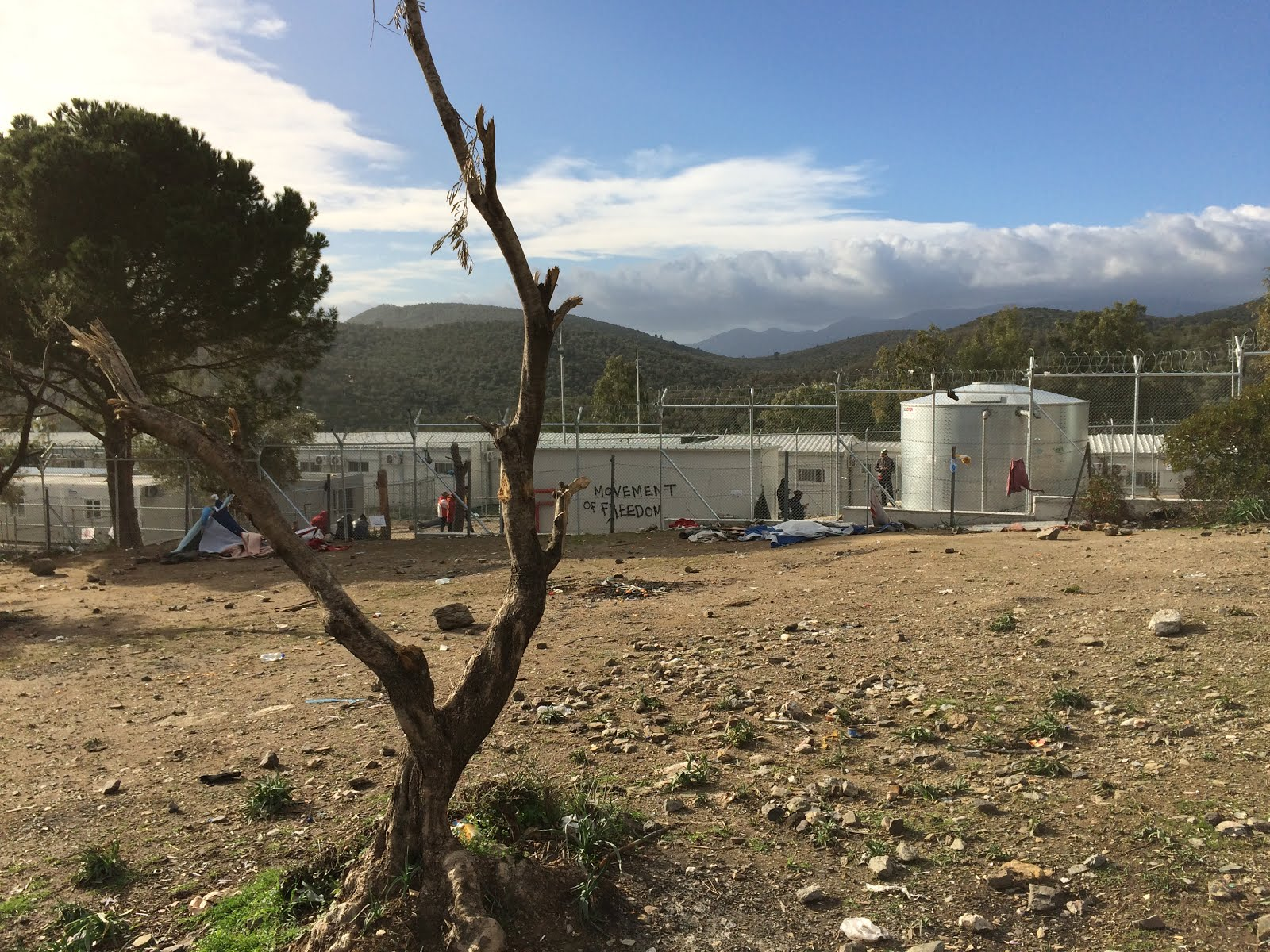 Moria Refugee Camp on Lesvos