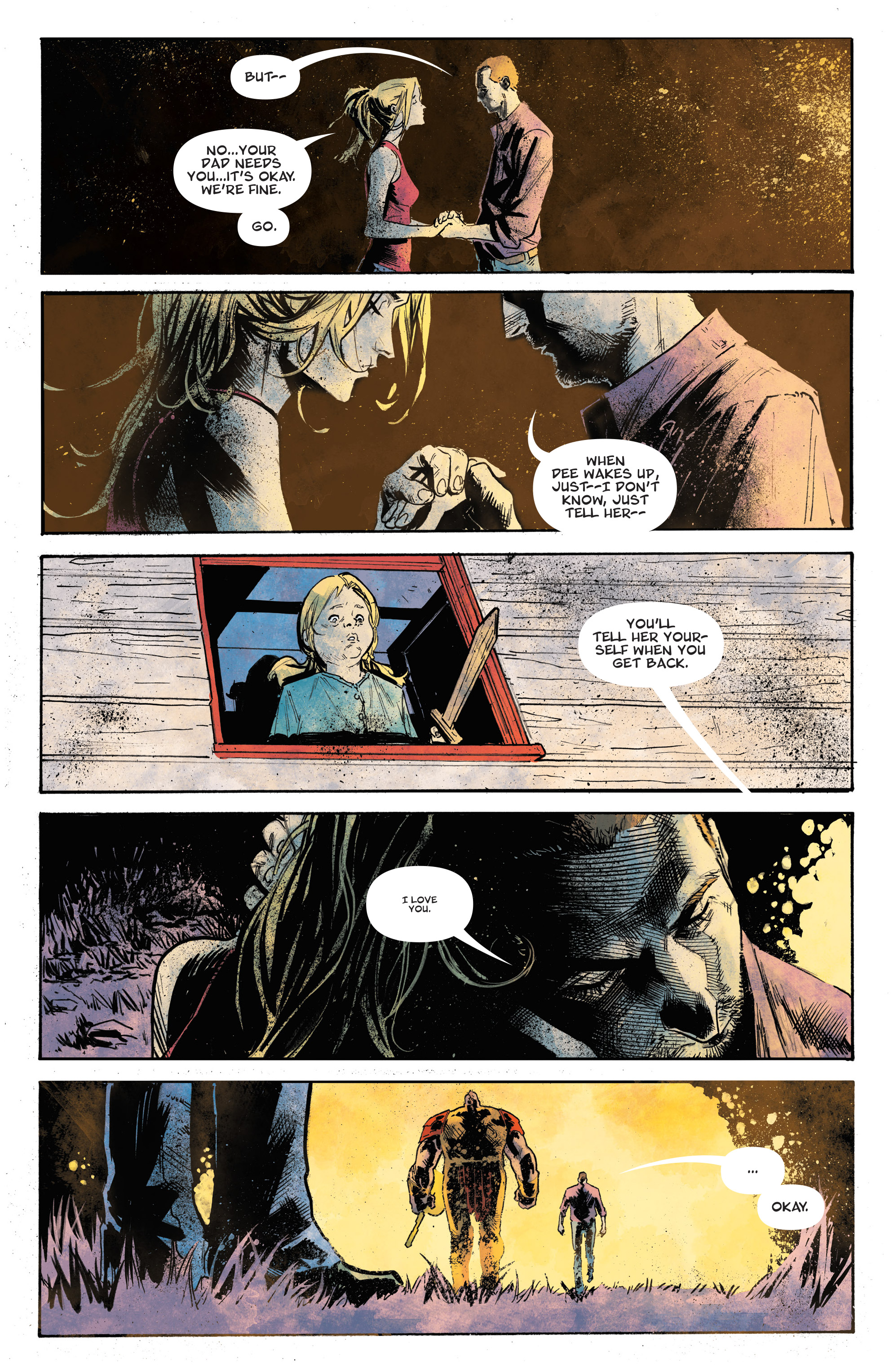 Read online God Country comic -  Issue #6 - 17