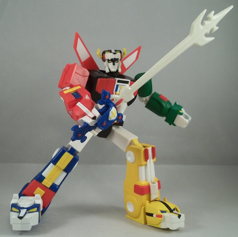Rockabilly's Toy Addiction!: Blazing Sword Voltron