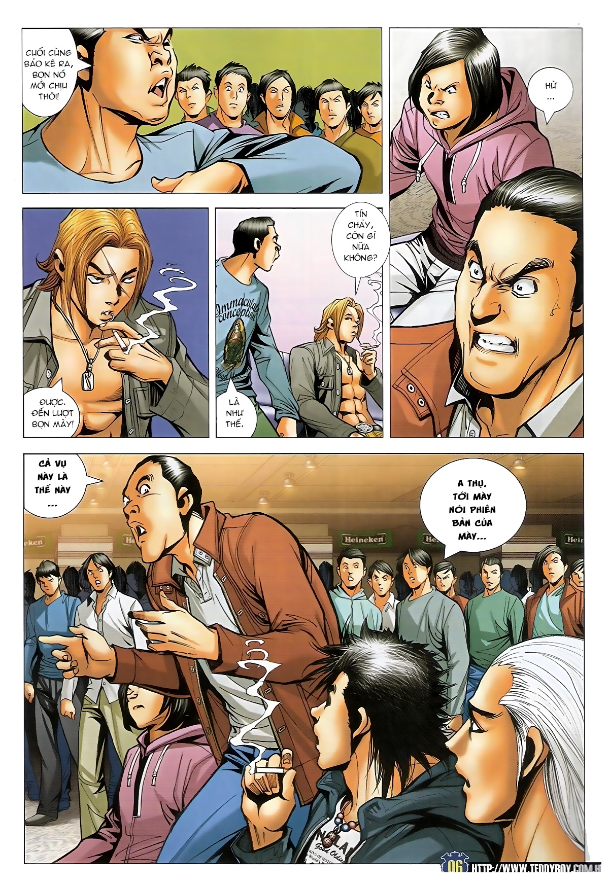 Người Trong Giang Hồ - Chapter 1493: Tốt bụng làm hỏng chuyện - Pic 5