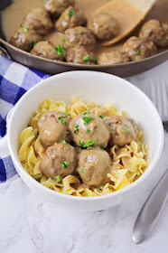 These quick and easy Swedish meatballs are so savory and delicious!