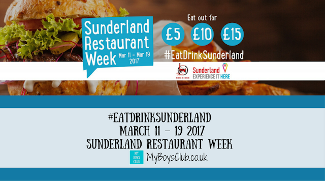 EatDrinkSunderland from March 11 – March 19 - Sunderland Restaurant Week