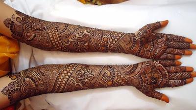 Rajasthani Bridal Mehndi Designs for Hands