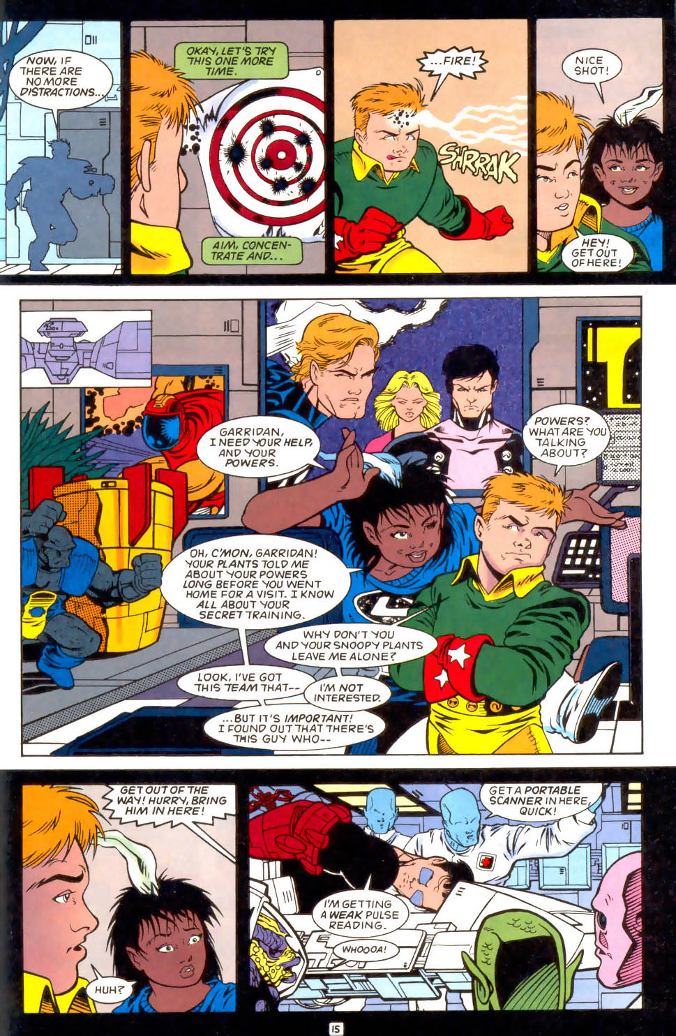 Legion of Super-Heroes (1989) 51 Page 15