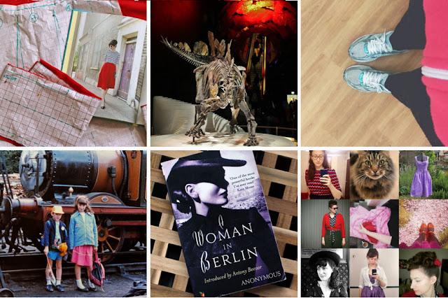 butterflybalcony on Instagram:  Self Draft Skirt // Stegosaurus // Zumba // Old Family Photos // Current Read // Best Nine 2015