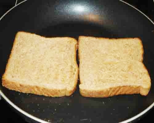 toast the bread slices