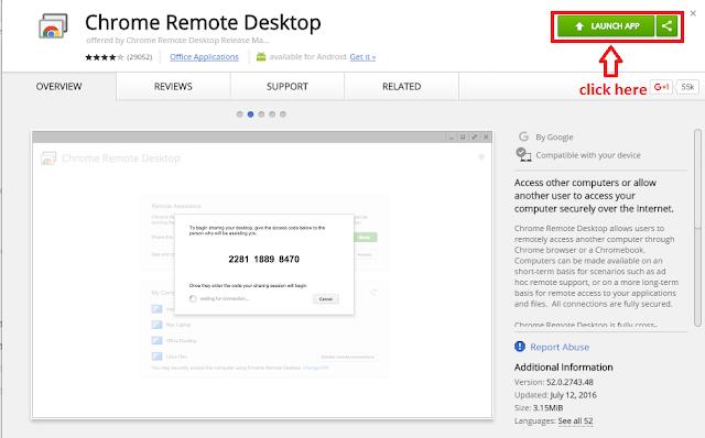 Chrome Remote Desktop - Techgot