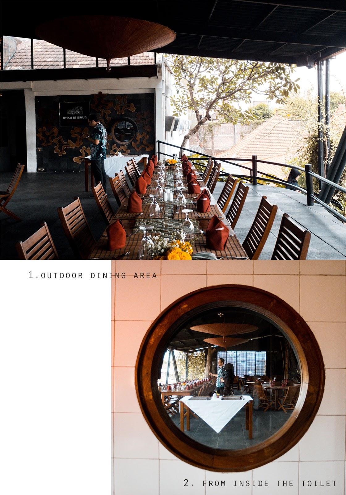 omah dhuwur luxurious dining