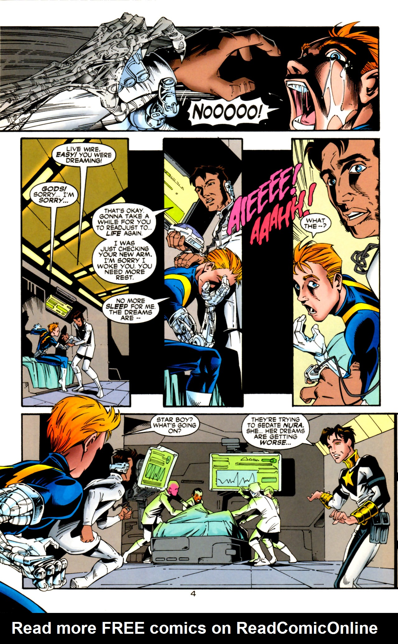 Legion of Super-Heroes (1989) 124 Page 4