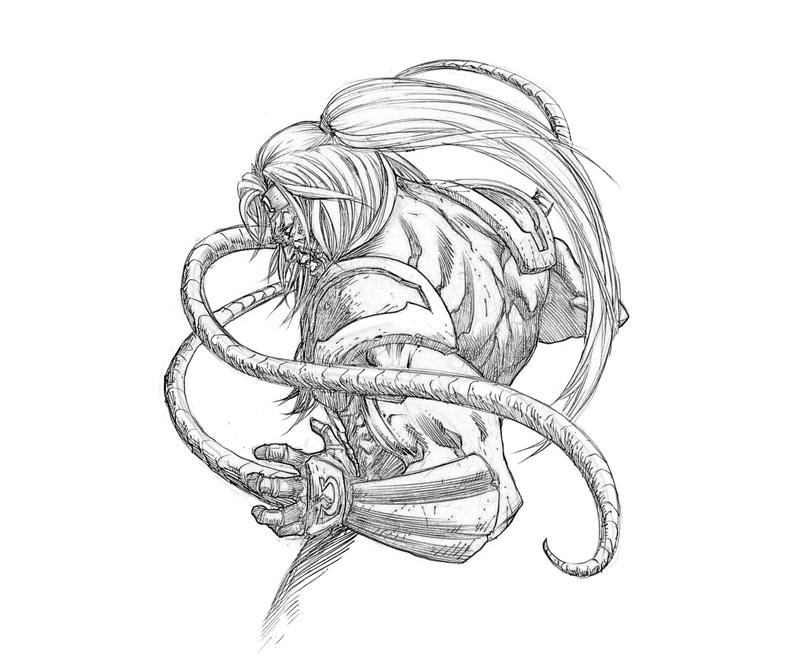 Free coloring pages of omega red