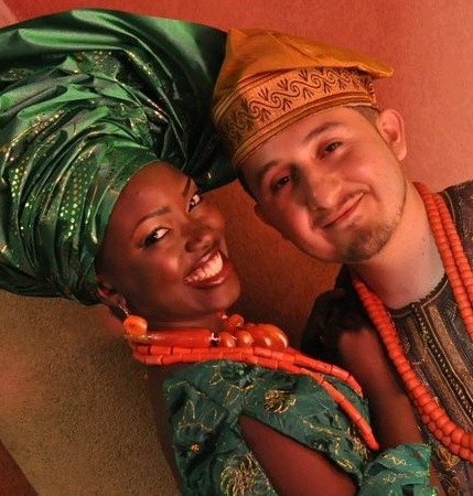nigerian woman and italian husband