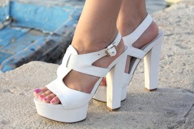 imagenes de Zapatos blancos