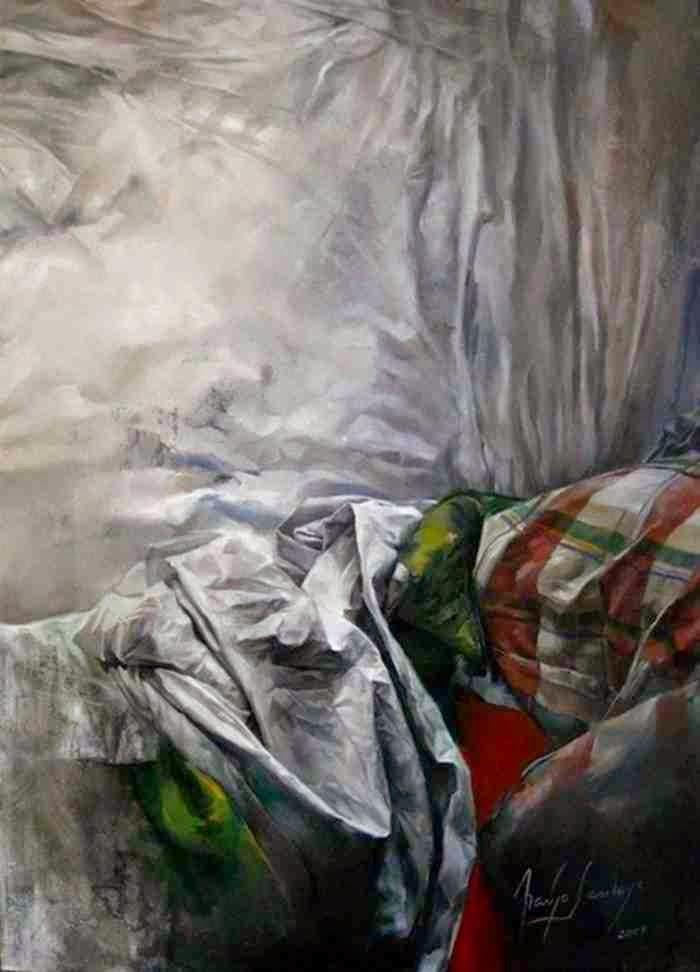 Колумбийский художник. Araujo Santoyo
