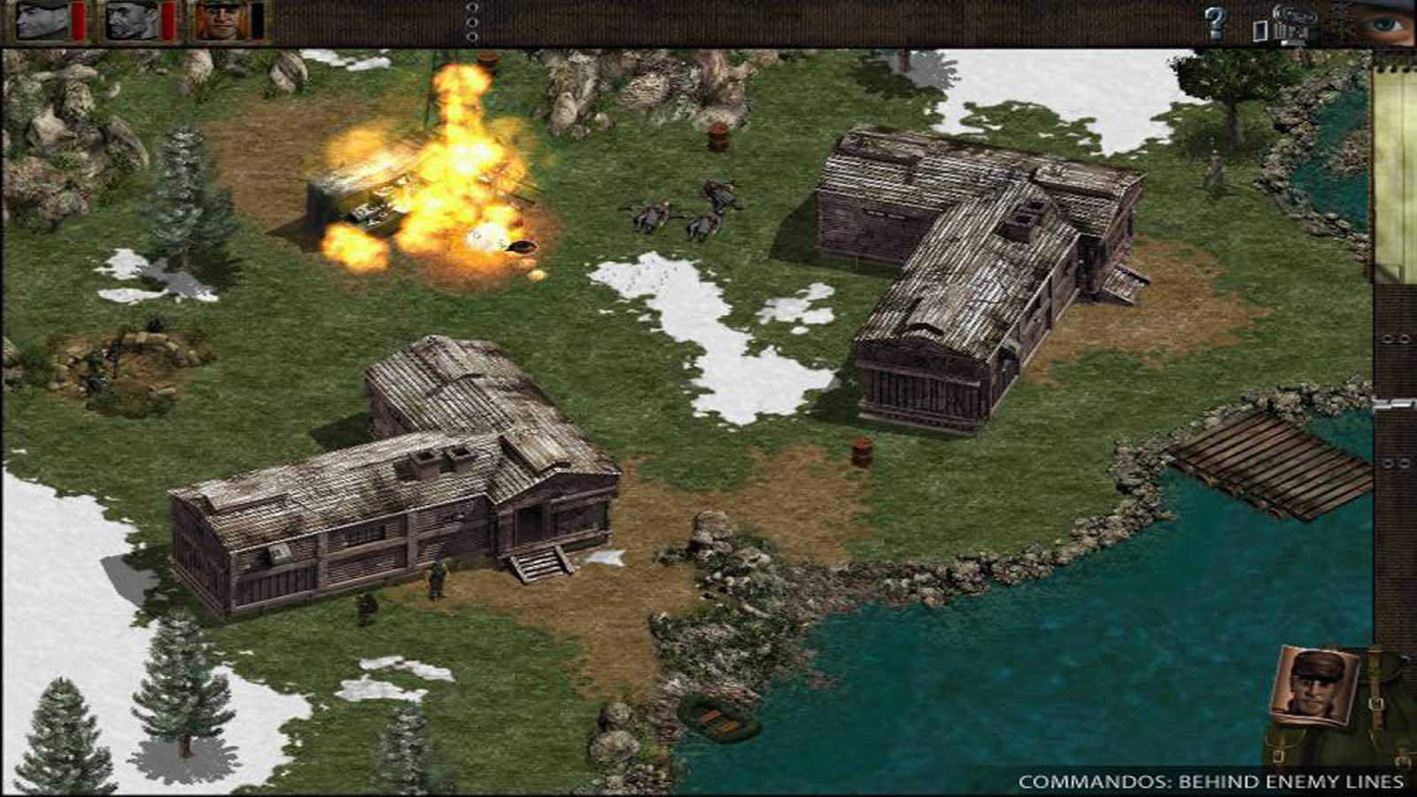 تحميل لعبة Commandos Behind Enemy Lines مضغوطة برابط واحد مباشر كاملة مجانا