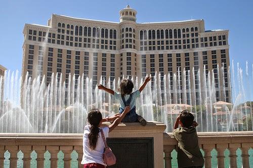 Las Vegas com crianças e filhos