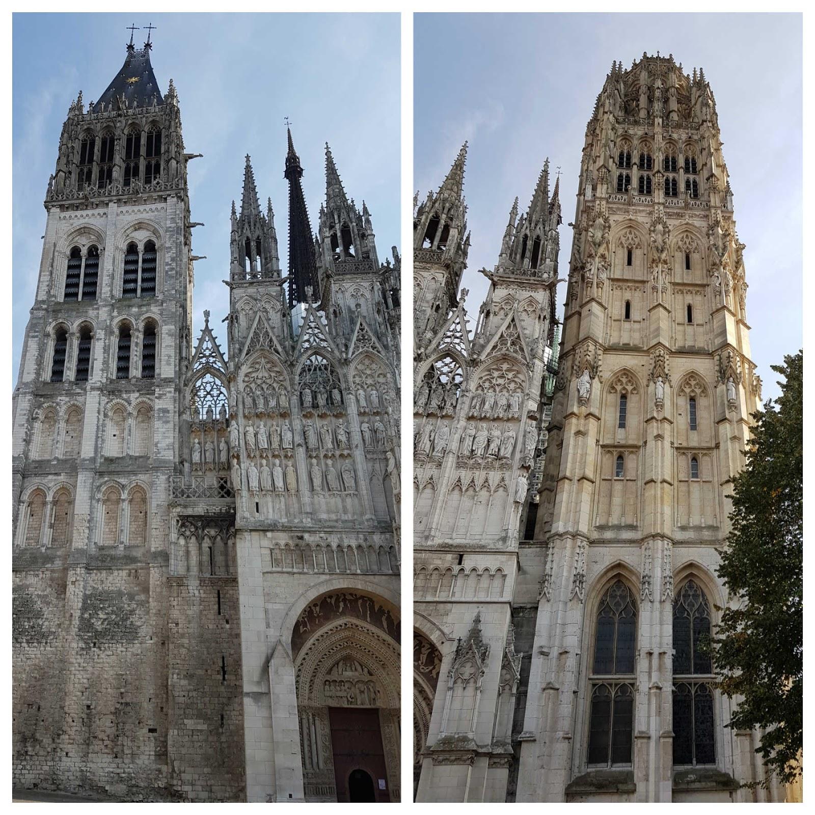 Catedral de Rouen, França.