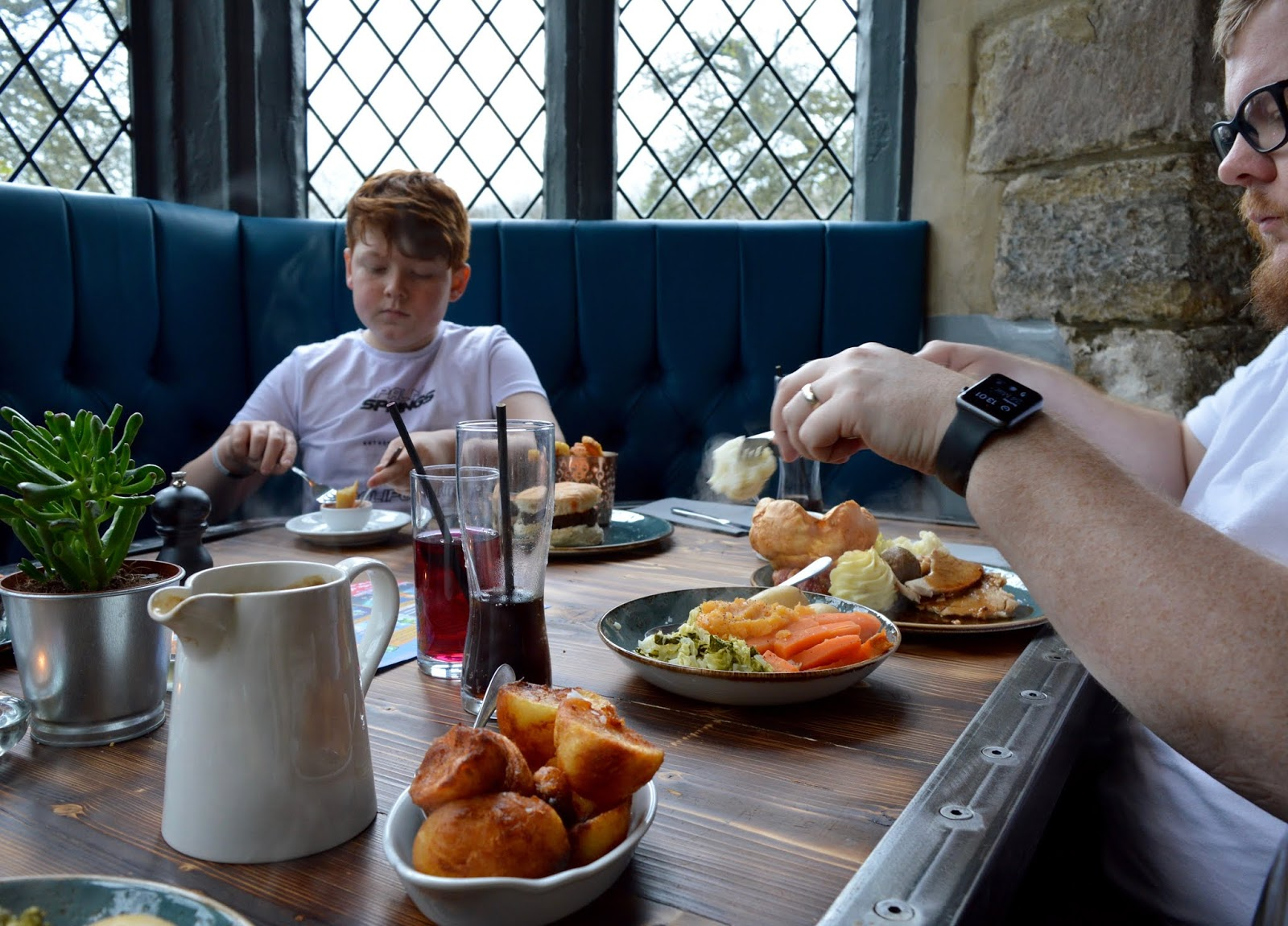Sunday Lunch, Playgrounds & Birds of Prey at Walworth Castle, Darlington  - family sunday lunch