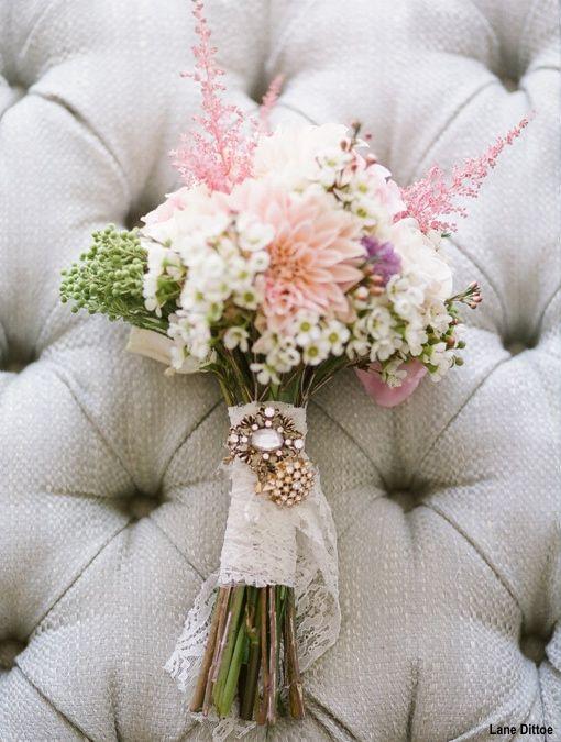 Bukiet ślubny vintage, kwiaty do ślubu vintage, ślub w stylu vintage, organizacja ślubu w stylu vintage