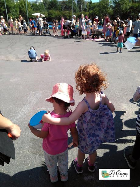 helsinque com crianças