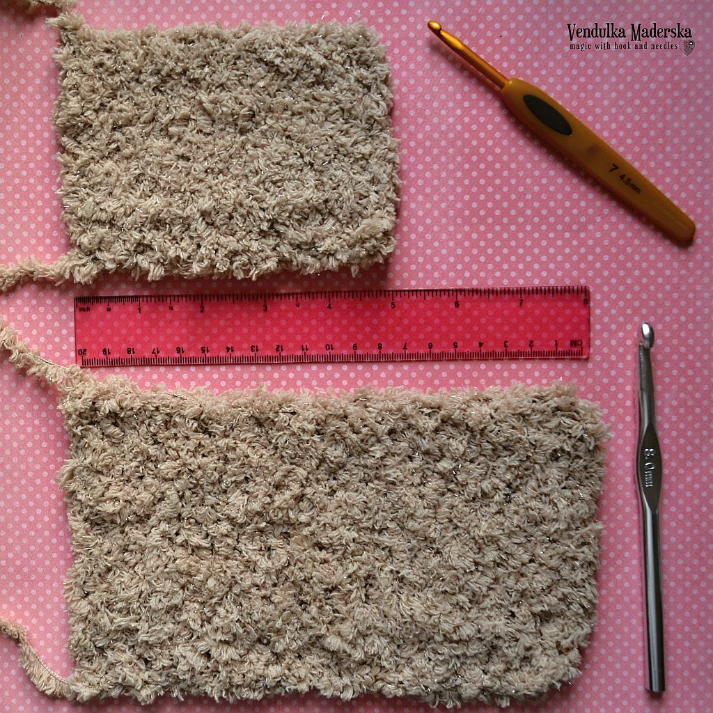 The Fuzzy Yarn - How to crochet with it? - Magic with hook and needles