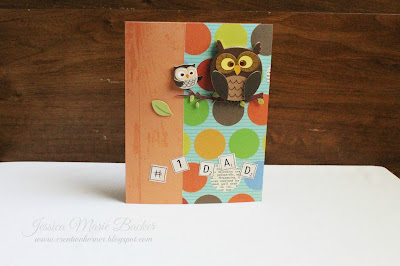Mom and Dad Owl Cards