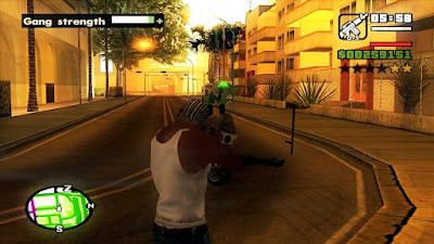 Gameplay Retro GTA SA