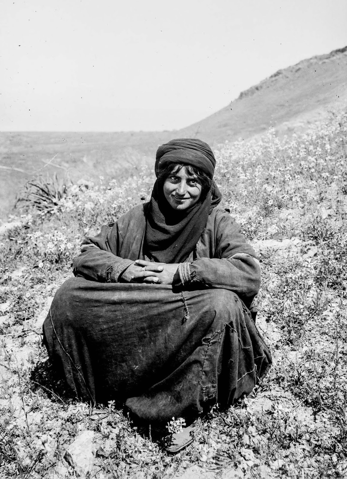 A Bedouin young woman.