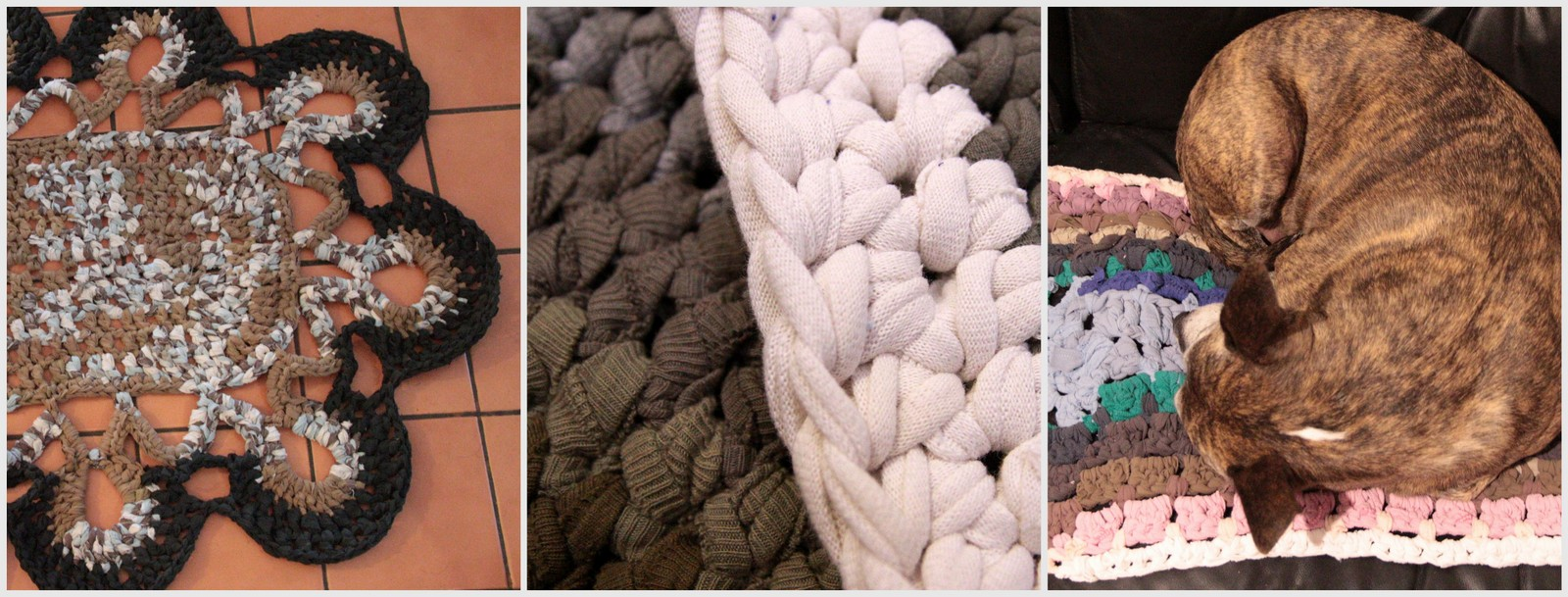 Click through for Crochet Upcycles